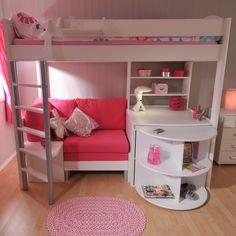 Casa 3 Highsleeper Childrens Cabin Bed   Childrens Beds   Bedroom