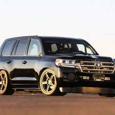"""Two. Thousand. Horsepower. The deceptivelynormal-looking Land Cruiser you see here is, in fact, the world's fastest SUV.With 2,000hp, the """"Land Speed Cruiser,"""" as it's called, can hit 220mph."""