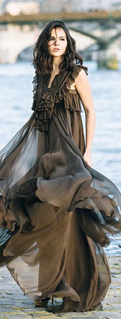 Givenchy Gown -   The Golden Diamonds
