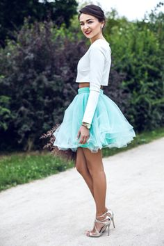 Waist Skirt, High Waisted Skirt, Must Haves, Flannel, Tulle, Silhouette, Street Style, Stylish, Skirts