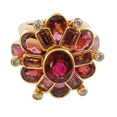 Tourmaline and Diamond Ring by Tony Duquette