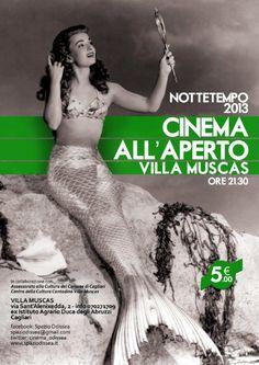 NOTTETEMPO 2013 – CINEMA ALL'APERTO – VILLA MUSCAS – CAGLIARI – 15-30 LUGLIO 2013