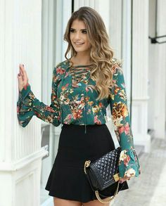 """terriserenity: """"Isn't this outfit so cute! Skirt Outfits, Dress Skirt, Fall Outfits, Summer Outfits, Casual Outfits, Cute Outfits, New Fashion, Autumn Fashion, Womens Fashion"""