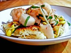 Seafood Chow Mein - A takeout favorite..make from scratch! Check out the recipe!