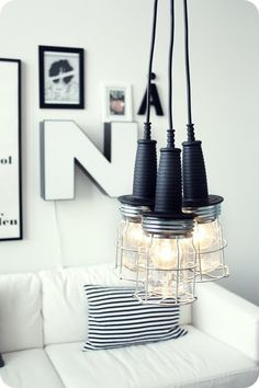 10 modern DIY lighting projects