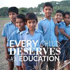 Every child deserves an education. Did you know supporting Fair Trade means fighting against child labour and defending the rights of children? #fashiontakesaction