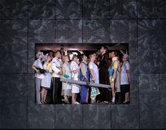 Die Hochzeit des Figaro, Regie: Barrie Kosky, Bühnenbild: Klaus Grünberg, Komische Oper Berlin, 2005