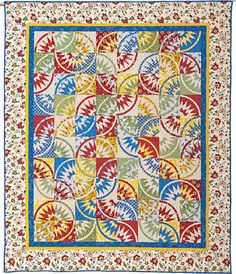 French Country Danse uses French Reproduction Fabrics by Daphne Greig