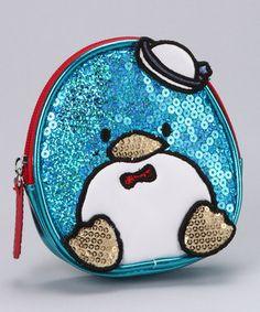 Blue Tuxedo Sam Coin Bag