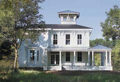greek revival farmhouse - Bing images