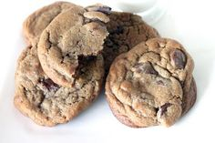 Espresso Kahlua chocolate chip cookies... so soft and chewy... {the sweet art}