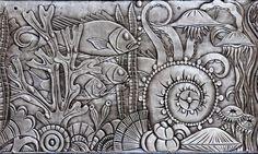 Art Deco frieze, Chanin Building, New York.: