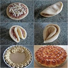 How To Nutella Donut Recipe Pictures – Diy and Craft Donut Recipes, Cooking Recipes, Nutella Donuts, Pastry Design, Bread Shaping, Bread Art, Food Carving, Puff Pastry Recipes, Bread And Pastries