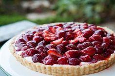 Strawberry Mascarpone Tart.