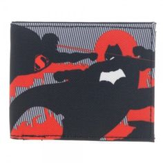 Superman Vs Batman Bifold Money Wallet DC Comics Bioworld BvS Dawn of Justice #Bioworld #Bifold