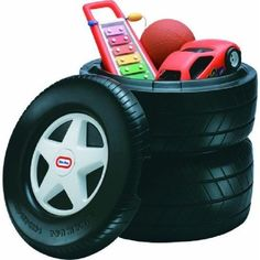 Great addition for a Race Car theme for a toddler room. Little Tikes Classic Racing Tire Toy Chest Little Tikes, Big Boy Bedrooms, Kids Bedroom, Car Bedroom Ideas For Boys, Box Bedroom, Childrens Bedroom, Boy Rooms, Car Themed Rooms, Car Themed Nursery