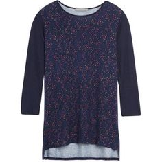 Dear stylist! I love the simplicity of this. It's longer and still work appropriate!! Loveappella Carnival Printed Knit Top