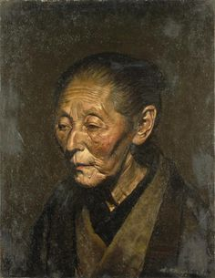 rob-art: 宮脇晴 宮脇晴:母六十六歳之像 (1924) 宮脇晴:母之像 (1924)