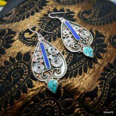 ₹ 600/- Find us @ www.facebook.com/ornaate.. Tibetan earring