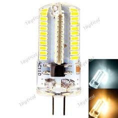 YWXLight Dimmable G4 110V 220V 3W 250LM 360° SMD 3014 LED Corn Bulb Warm White Natural White HLT-515842