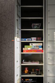 Lelukaappi Lockers, Locker Storage, Cabinet, Furniture, Home Decor, Clothes Stand, Decoration Home, Room Decor, Closet