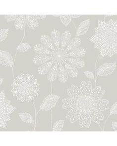 Warm up with hot deals this Fall! a-street prints panache floral wallpaper for $134.98. Was $179.98.