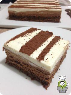 Chef in Chief: Tarta trío de mousses de chocolate