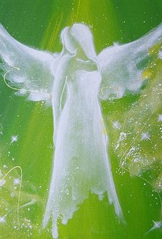 "Limited angel art photo ""angel"" , modern angel painting, artwork,ideal also for… Angel Guidance, I Believe In Angels, Angel Pictures, Angels Among Us, Guardian Angels, Angel Art, Painting & Drawing, Photo Art, Art Projects"