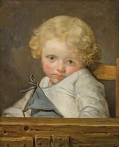 Jean-Baptiste Greuze Le Petit Boudeur, huile sur toile, x cm Martin Johnson, National Gallery, Boy Illustration, Jean Baptiste, Guache, Art Studies, French Artists, Beautiful Paintings, Portraits