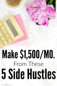 She makes more than $1,500 a month just from side hustles! I can't wait to give…