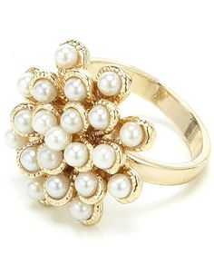 Ella pearly ring /Accessorize