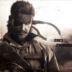 Big Boss. MGS Peace Walker.