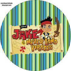 Kit Festa Jake e os Piratas Para Imprimir Gr�tis