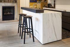 Private Project - Z-parket - Floor: Argos.  A gorgeous Z-parket Argos floor in a eclectic designed kitchen.  Interieur Design PDL Concept, Images Tim Van De Velde. #zparket #hardwoodfloor #oakhardwoodflooring #solidwoodflooring