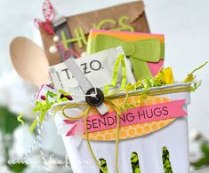 Pickled Paper Designs: Feel Better Inspiration Berry basket from Michaels