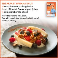 You'll love this #healthy #breakfast #recipe from #TheDoctors #Diet #book by Dr. Travis Stork. Get your copy from http://www.thebooknook.com/the-doctor-s-diet-dr-travis-stork-s-stat-program-to-help-you-lose-weight-restore-your-health.html