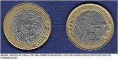 Resultado de imagem para MOEDAS DE 0,5 CENTAVOS ANO 2004