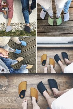 Cosy slippers - cosy home decor idea. Handmade, comfortable, and warm slippers for men and women. #cozyhome #hyggehome #cosyhome #cosydecor #slippers #cosyslippers #warmslippers Cosy Home Decor, Cosy Corner, Hygge Home, Autumn Home, Cozy House, Wool Felt, Heeled Mules, Slippers, Warm