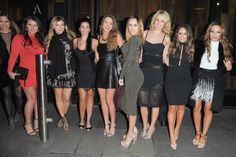 Manchester United WAGs glam up for Christmas night out at Tattu - pictures - Manchester Evening News