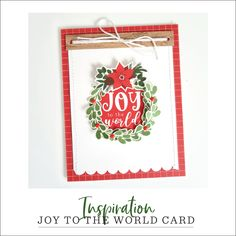 8_Jingle_All_The_Way_Cardmakers_Set_inspiration_2 Echo Park Paper, Santa Suits, Jingle All The Way, Joy To The World, What To Make, Papers Co, Festival Party, Wonderful Time, Cardmaking