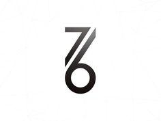 76 Concept . Logo Design Inspiration . Geometric and Minimal .