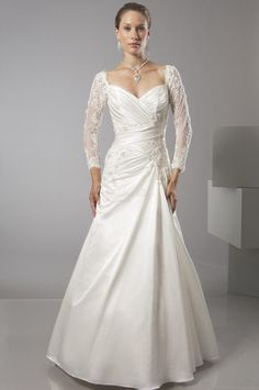 Casual Wedding Dresses With Sleeves - Bing Images