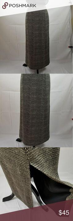 Jones New York silk skirt Jones New York fully lined  skirt. Side zipper, side slit for walking and sitting. 100%silk. Jones New York Skirts Maxi