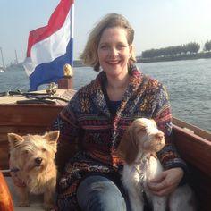 dierendag Anton heeft zijn vuurdoop op de boot. Stoere gozer! | http://trendbubbles.nl/