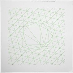#111 A disruption in the force – I seem to be stuck on line art this week, hope that is ok. – A new minimal geometric composition each ...