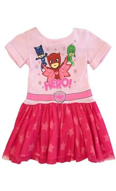 d77bcf557dc Toddler Girls Owlette Tutu Dress with Wings - PJ Masks