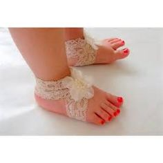 photo of lace baby shoes - Yahoo Image Search Results
