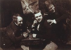 Edinburgh Ale: James Ballantine, Dr George Bell and David Octavius Hill by National Galleries of Scotland Commons, via Flickr