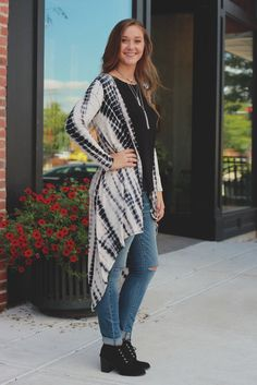 Tie Dye Long Sleeve Lightweight Hooded Cardigan – UOIOnline.com: Women's Clothing Boutique