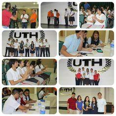 Final de la #4taOlimpiadaDeMatemáticas2015 en #UTH #Honduras  Con los institutos #HappyNewDawn #institutopalmera #laestanciaschool